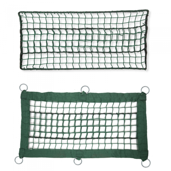 Rete verde per parchi avventura, maglia 48mm