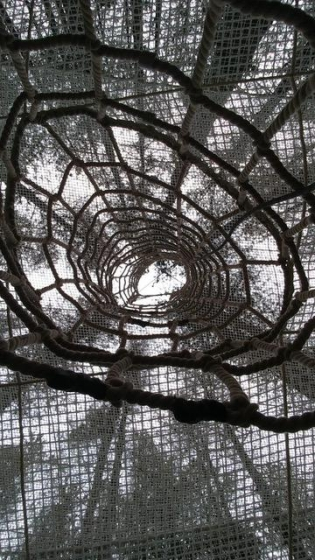 Cilindro di arrampicata in fune «Erkules»